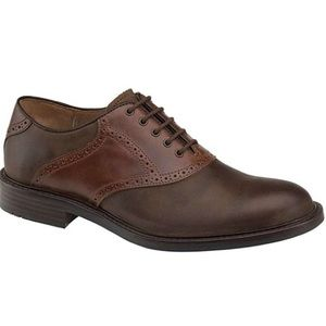 Johnston and Murphy Tabor saddle oxfords 11W